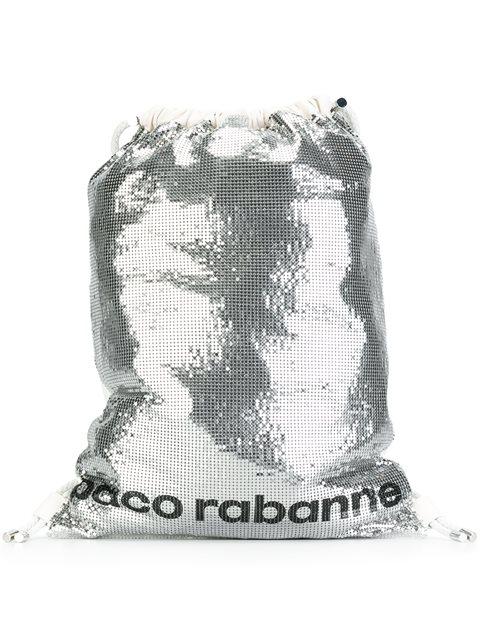 sequin embellished backpack