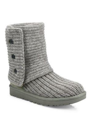 'Classic Cardy II' Knit Boot (Women)