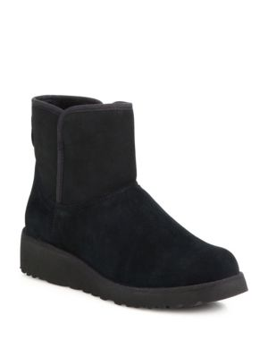 Kristin Classic Slim Short Wedge Boots
