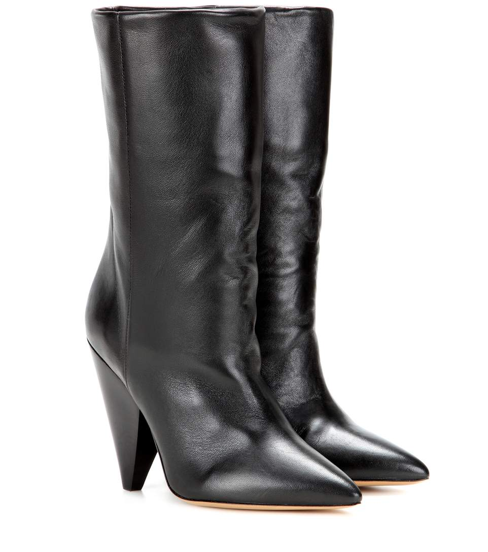 Étoile Darilay leather ankle boots