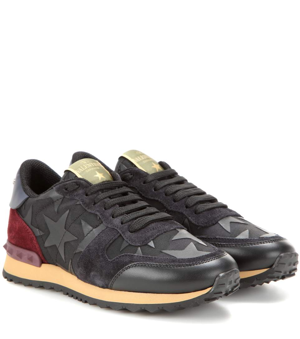 Womens Leather Shoes With Appliques