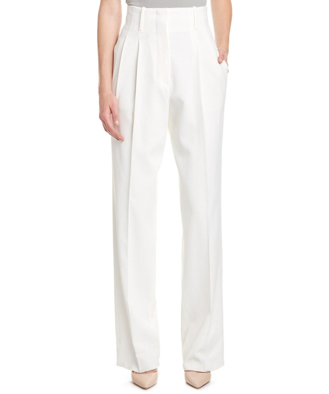 Zanzara Stretch Cotton Bootleg Trousers