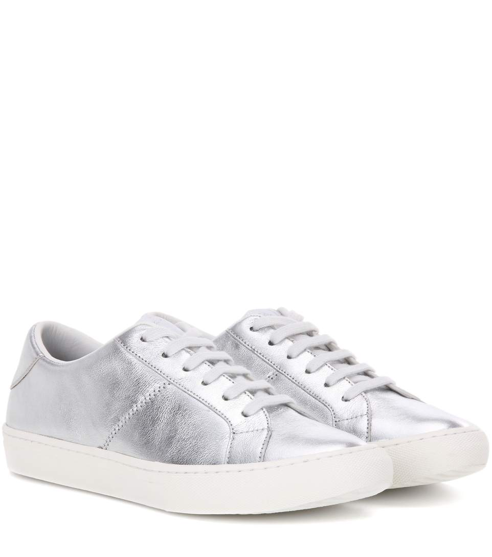 Empire Metallic Lace Up Sneakers