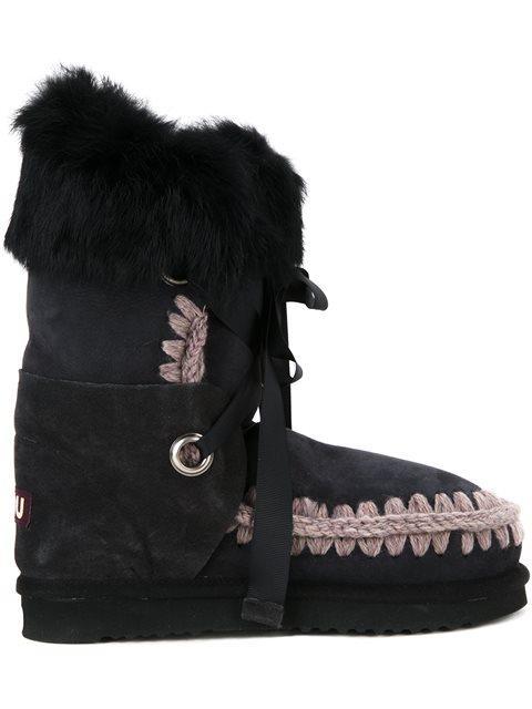 'Eskimo Lace' boots