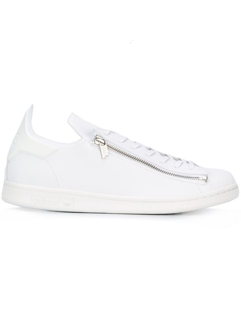 SUPER ZIP LEATHER SNEAKERS
