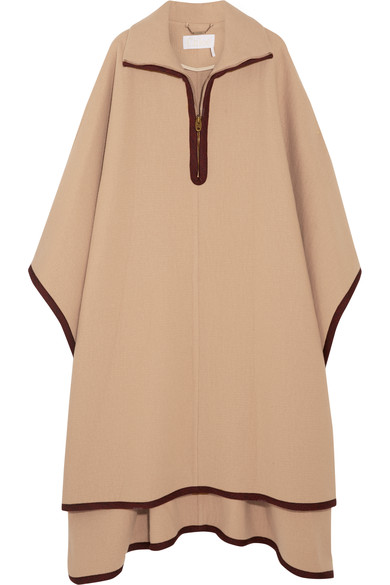 OVERSIZED WOOL & CASHMERE CAPE