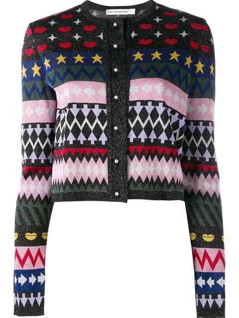Slade Intarsia Knit Cardigan