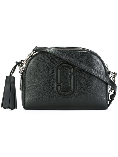 Marc Jacobs Small Shutter Leather Camera Bag Black