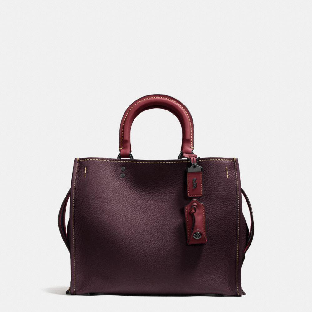 'Rogue' glovetanned leather shoulder bag