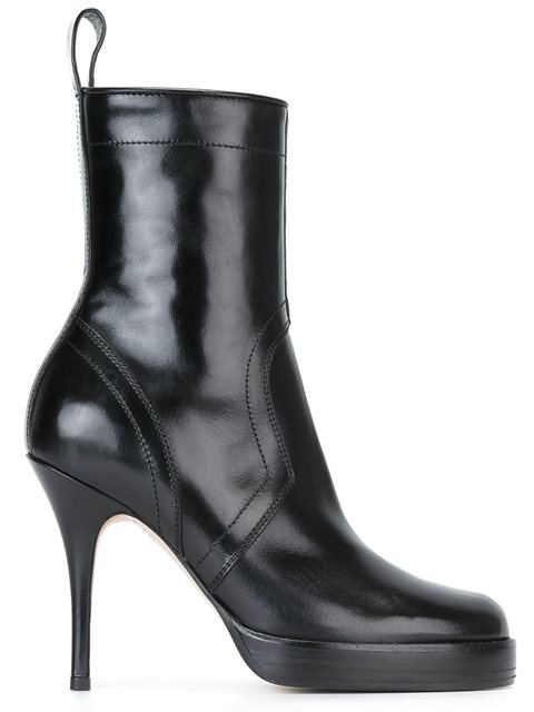 Black Classic Stiletto Boots