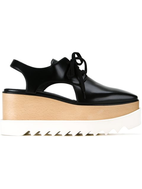 Elyse cut-out platform shoes