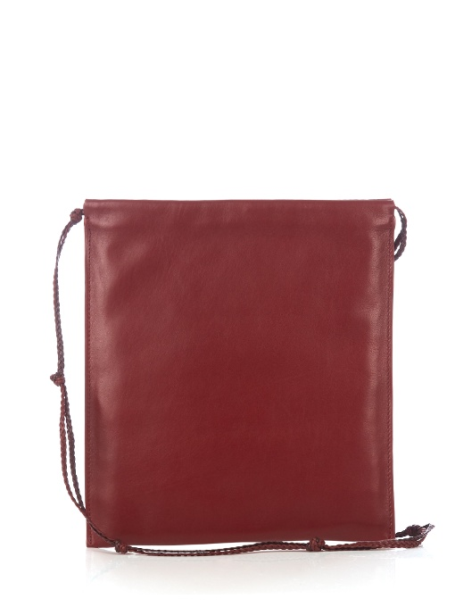 'Medicine' large lambskin leather crossbody pouch