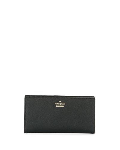'cameron street - stacy' textured leather wallet