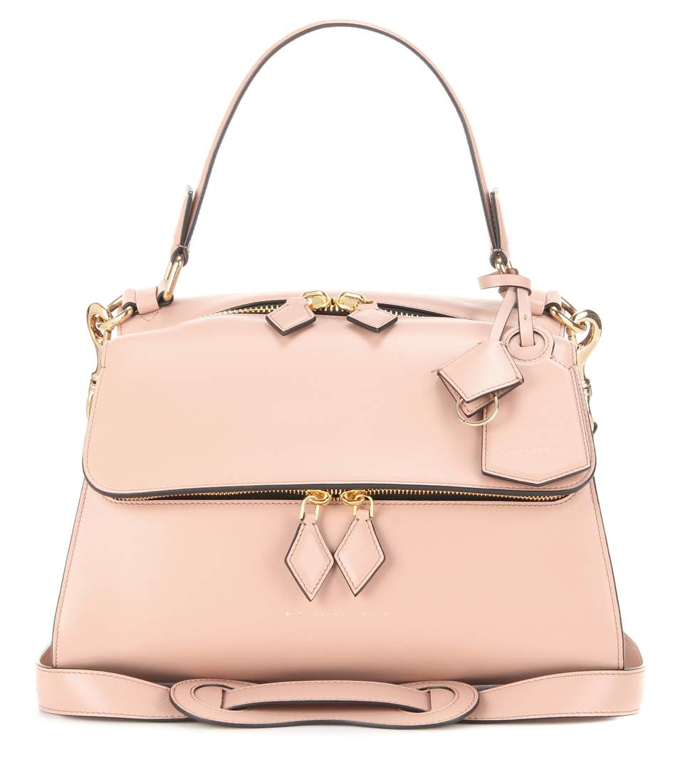 Small Pocket leather crossbody bag