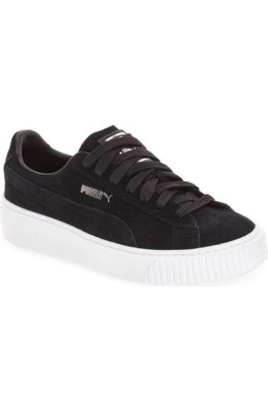 Puma Suedes Suede Platform Sneaker (Women)
