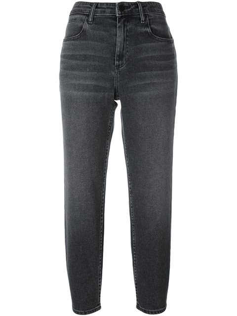 Ride Grey Fade Cropped Jeans