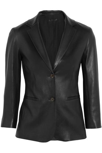 The Row Nolbon leather blazer
