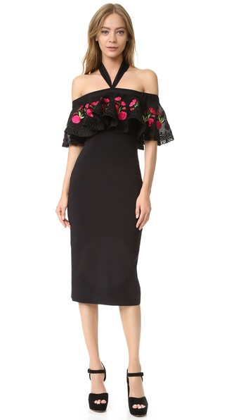 Temperley London Downs Fitted Lyra Dress