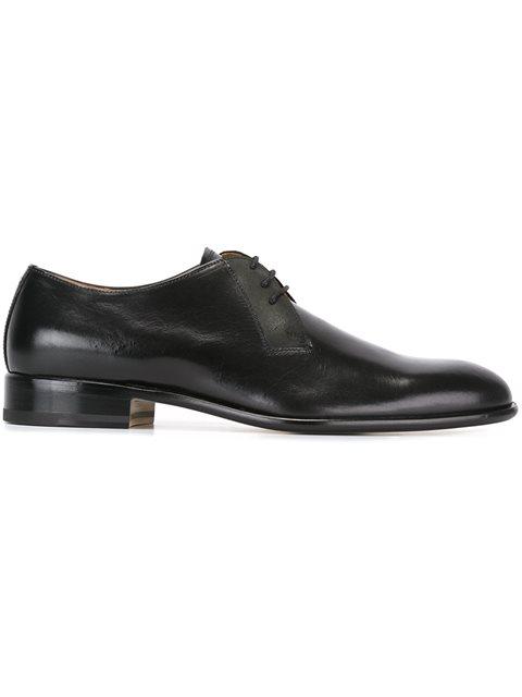 Maison Margiela Leathers lace-up smart shoes