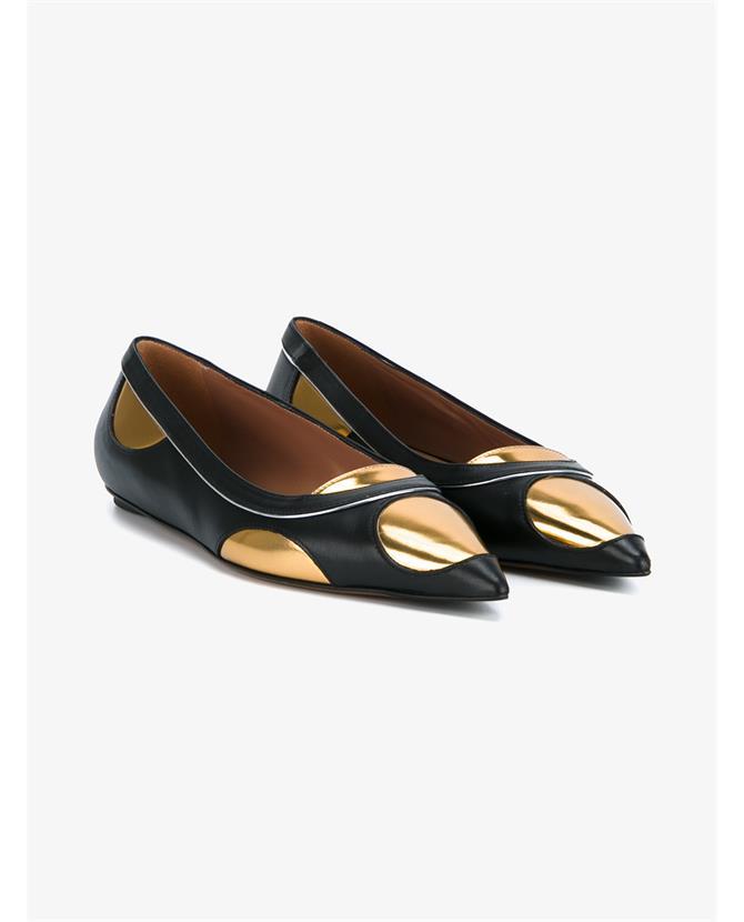 Marni Leathers Leather Ballerina Flats
