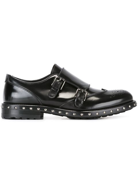 studded monk shoes