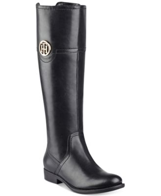 Tommy Hilfiger Low heels Tommy Hilfiger Silvana Wide-Calf Riding Boots