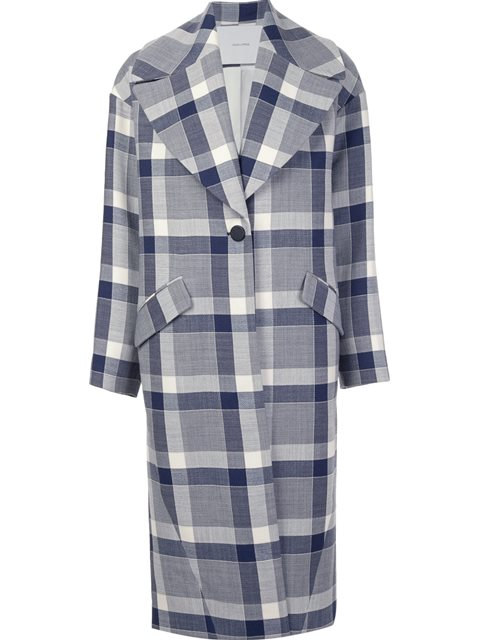 macro check coat