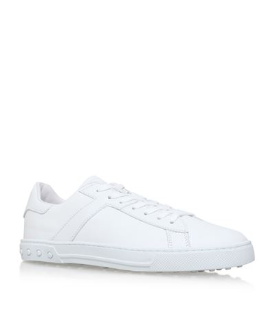 Tod's Leathers Leather Tennis Sneakers