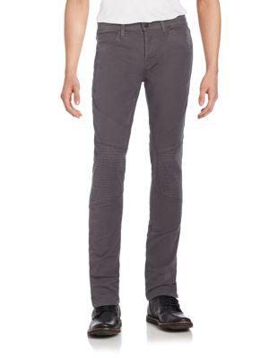 J Brand Cottons Bearden Skinny Moto Jeans