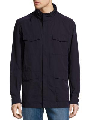 Giorgio Armani Linings High Collar Water Repellant Jacket