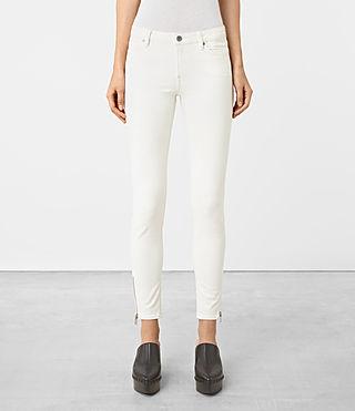 Allsaints Cottons Mast Ankle Zip Jeans