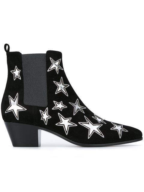 Saint Laurent Leathers 'Rock 40' Chelsea boots