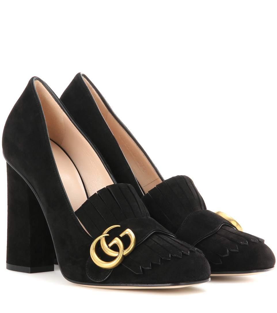 Gucci Suede Pumps Shoes Women