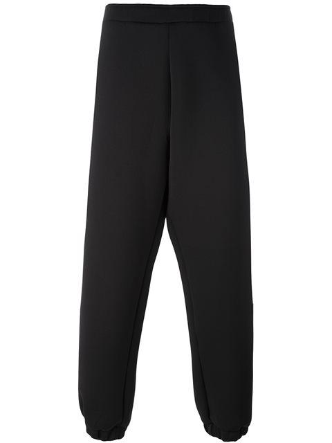 ASTRID ANDERSEN Elasticated-waist neoprene track pants