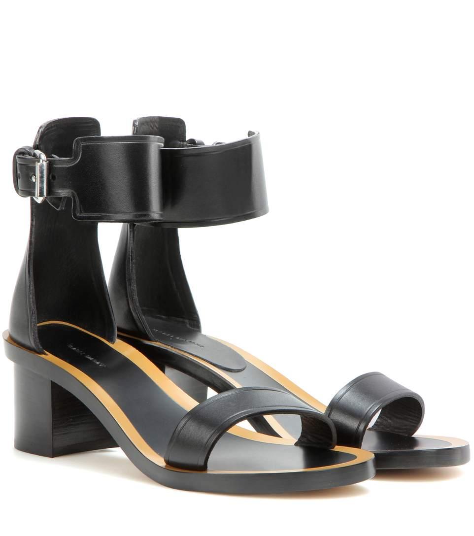 Isabel Marant  Jayde leather sandals