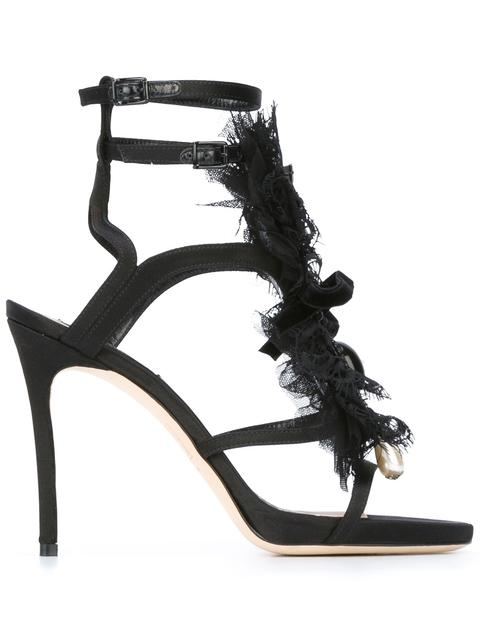 Dsquared2 Leathers 'Victorian' open panel sandals