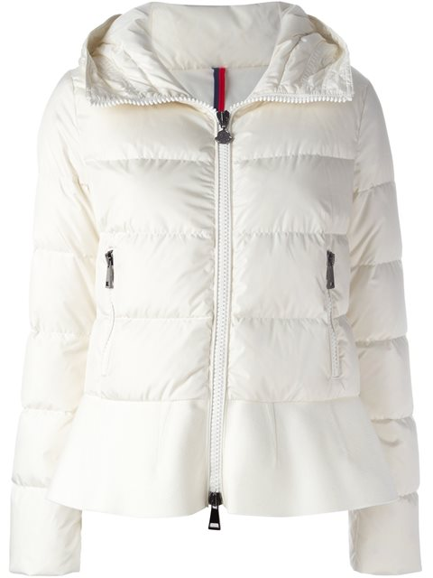 NESEA QUILTED PUFFER COAT W/WOOL TRIM, NAVY 778
