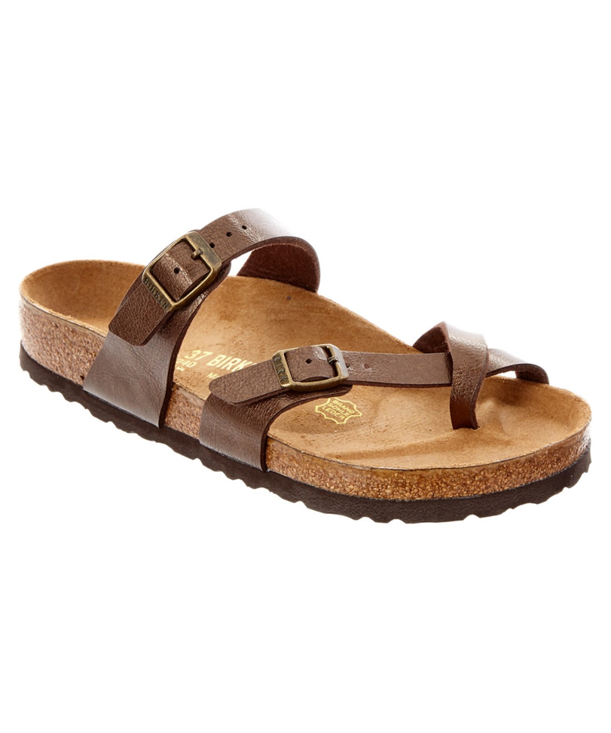 WOMEN'S MAYARI BUCKLED SLIDE SANDALS