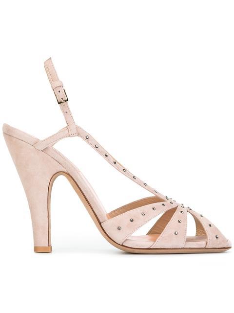 Valentino Crystals Valentino Garavani crystal embellished slingback sandals
