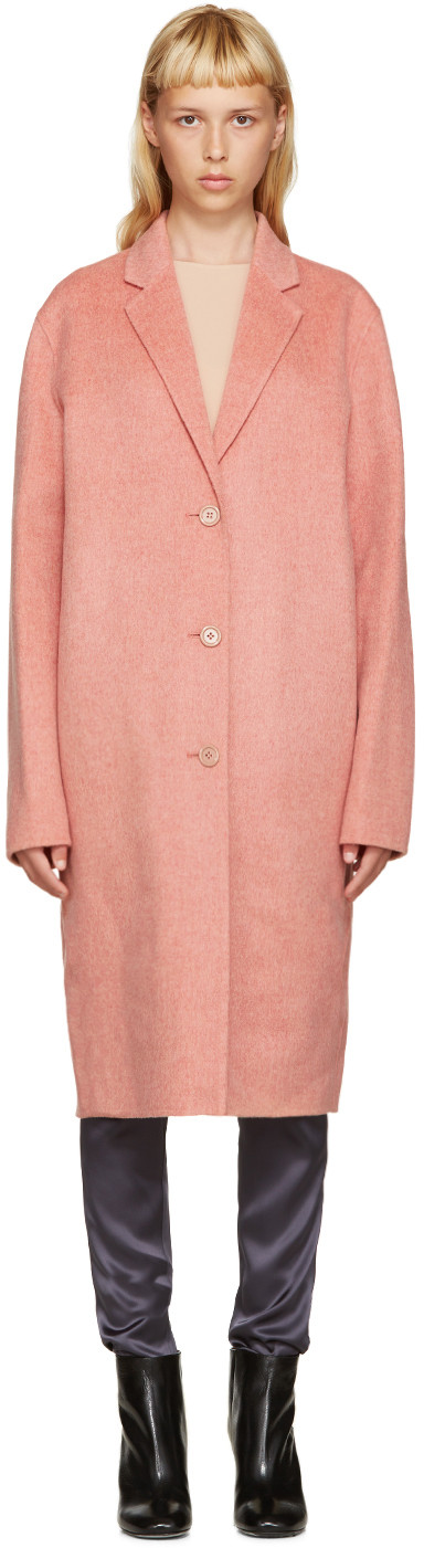 'Avalon Doublé' wool-cashmere long coat