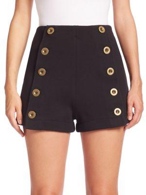 Chloé Knits Punto Milano Shorts