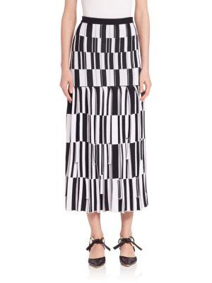 Proenza Schouler Pleated skirts Knit Jacquard Skirt