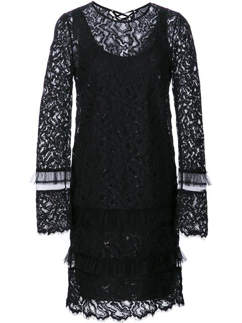 MAIYET LONGSLEEVED LACE DRESS