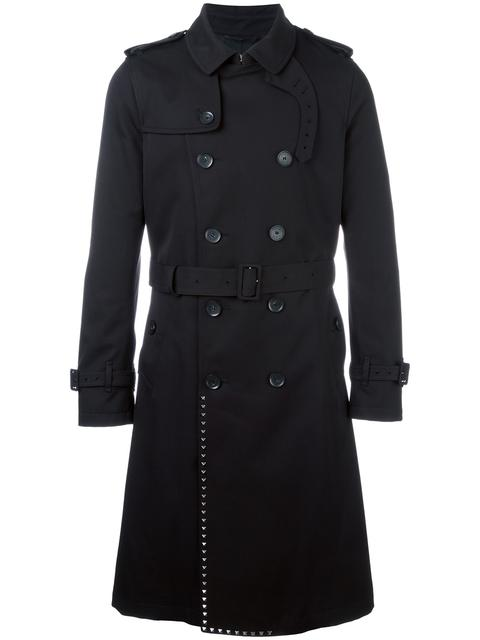 Valentino Cottons 'ROCKSTUD' TRENCH COAT