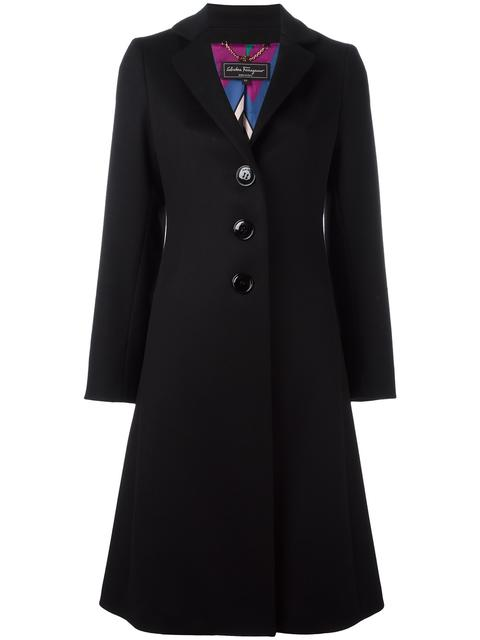 Salvatore Ferragamo Wools single breasted coat