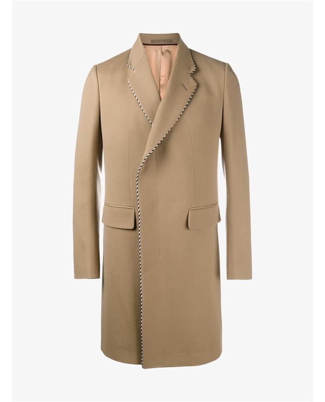 Gucci Wools Wool Blend Single Breasted Coat