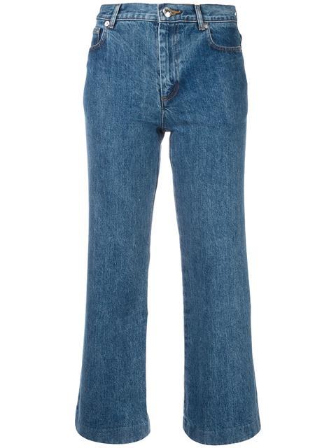 A.p.c. Denims cropped jeans