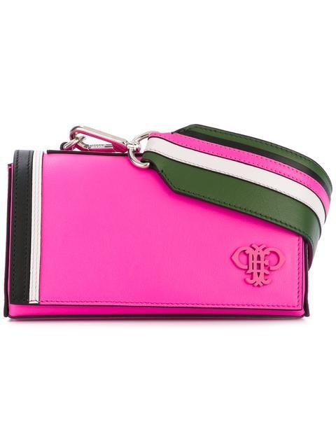 Emilio Pucci Leathers logo appliqué crossbody bag