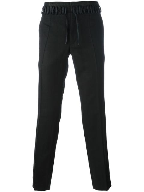 Haider Ackermann Cottons SLIM-FIT TROUSERS
