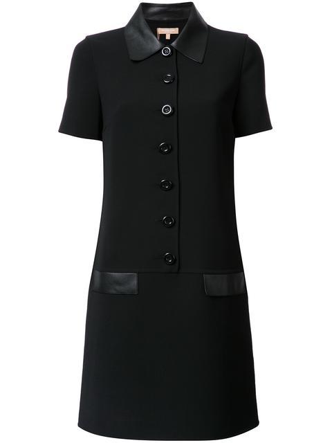 shortsleeved shirt dress